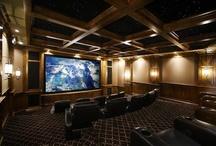 Attic & Basement/Home Theater