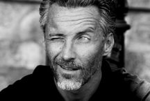 Silver Fox /  An attractive older man, generally over 40 & desired by younger women  / by Sammie Mahaffy