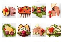 Sandwich Art Inspiration / food art inspiration