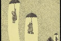 Illustrationen / Illustrationen sind Bildgeschichten, die einen leicht verzaubern können. Und diesen Zauber gilt es hier einzufangen.