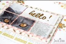 Scrapbook Layouts by jenandtricks / My scrapbooking and memory keeping, sharing my scrapbook layouts. Visit my blog at http://forglueandglory.com