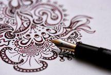 my doodles / my doodles and illustrations  visit http://doodleddistraction.blogspot.com  for more