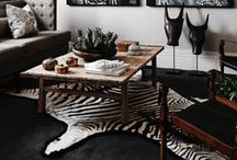 ⚫️ Zebra Skin Rug Interiors ⚫️ / We are a worldwide supplier of Trophy size and Grade A zebra skin rug used in many interior design projects. Our Zebra skins have been featured/used on numerous publications including Architectural Digest as well as Elle Decor. This board demonstrates the many ways a zebra rug can be used in various interior settings. To make an order, please visit www.outsourcesol.com