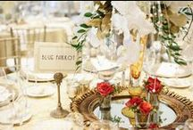 All in the Details / It's personal touches that make a wedding YOUR wedding! We love our creative brides and the expert vendors that help each of them carry out their unique vision for their big day.