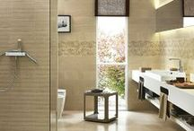 Bathroom Tiles / Porcelain tiles imported from Italy.