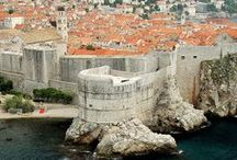 Ragusa / The historical Latin and Dalmatian name of Dubrovnik, Croatia / by Sylvia van Soest