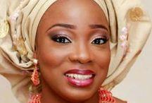 NIGERIAN WOMEN / Inspirational and flamboyant Nigerian Attire.