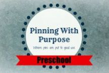 Preschool (PWP) / A board full of preschool lessons, visuals, and activities your kids are sure to love.