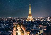 Paris de noche. ¸¸.✿`