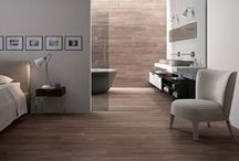 Wood Look Tiles / Imitation wood look porcelain tiles offers durability and style.