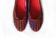 Mola Ballerinas and Sandals / Beautiful and Colorful Ballerinas and Sandals with the unique Mola textile! Perfect for the Summer! All eyes will turn to your feet!!:)