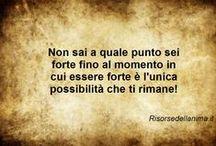 RDA Motivation / Frasi motivanti per continuare sulla propria strada, per affrontare le proprie sfide e non mollare mai...