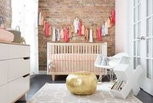 Nursery Decor / Decorating for Baby. Inspiring interior design for kids spaces.