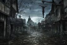 Dark Art / Gothic, mysterious and victorian art.