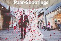 Kreative Paar-Shootings / Auf dieser Pinnwand findest du unsere Sammlung an ausgefallenen, romantischen und kreativen Paar-Shootings – von Verlobungsbildern, über Save-the-Date-Shootings, bis hin zu Hochzeitsfotos.