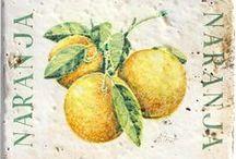 """Decorativos hechos y pintados a mano / Piezas hechas a mano y decoradas """" Decorativos"""" www.alteret.com"""