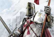 """Knights Templar / """"Non nobis Domine, non nobis, sed nomini Tuo da gloriam!"""""""