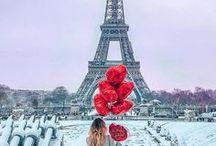 Paris en la Nieve. ¸¸.✿`