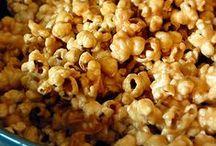 popcorn / pretzel