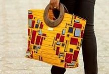 African Print Bags / Collections of must-have African Prints Bags of all time.