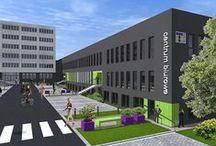 TETRIS Centrum Biurowe, Roździeńskiego 188c, Katowice / TETRIS Centrum Biurowe, Roździeńskiego 188c, Katowice, Biura do wynajęcia