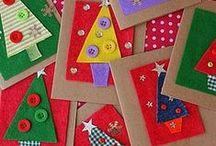 Joulukortteja / Korttimalleja