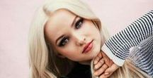 "Dove Cameron / Beautiful actress, singer and dancer. She is adorable, funny, talented and sweet girl. She is best known from tv show ""Liv and Maddie"", as Mal from Descendants and Descendants 2. Then she appered in various movies or tv shows such as: Austin and Ally, Cloud 9, R.L. Stine's Monsterville: The Cabinet of Souls, Barely Lethal, The Lodge, The Mentalist, Shameless, Mamma Mia live, Hairspray live... Curently she is dating Thomas Doherty who plays Harry Hook in Descendants."