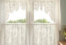 window cover curtains-Rideau- / curtains ideas
