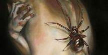 Arachnophobia / Spider art