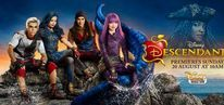 Descendants 2 (2017) / The best disney movie ever IS BACK! Mal returns to the Isle of the Lost cause she take the pressure. Ben goes to the isle to bring her back but he is captured by Uma - Mal´s archenemy and her crew including Harry Hook and Gil son of Gaston.  Mal has to bring fairy grandmother´s wand to get him back. Staring: Dove Cameron, Mitchell Hope, Sofia Carson, Cameron Boyce, Booboo Stewart, China Anne McClain, Thomas Doherty, Brenna D'Amico, Dianne Doan, Dylan Playfair, Melanie Paxson...