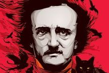 "Edgar Allan Poe / ""Quoth the Raven: Nevermore!"""