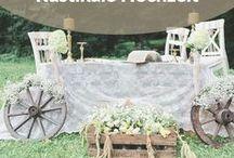 Rustikale Hochzeit / Landliebe pur und rustikale Hochzeitsdeko! Auf dieser Pinnwand findest du  Ideen und Inspirationen für deine Landhaushochzeit.