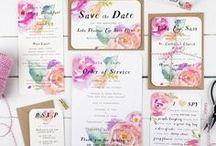 Papeterie / Mit der Hochzeitspapeterie fängt es an! Wir zeigen dir verschiedene Stilrichtungen und Themen für deine Hochzeit.