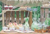 Candy Bar & Sweets / Candy Bar pastell, Candy Bar Vintage ... Cupcakes, Cake Pops, Macarons – wir zeigen dir süße Gestaltungs-Ideen für deine Candy Bar ...