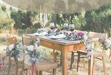 Hochzeitsdeko / Auf dieser Pinnwand findest du Inspiration für deine Hochzeitsdekoration: Tischdeko für runde Tische bis zur langen Tafel, Kirchendekoration, Hochzeitsdeko für den Saal, DIY Hochzeitsdeko selbst machen, ...