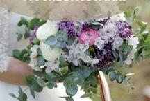 Brautstrauß / Blumige Aussichten: Hier findet ihr Inspirationen für den romantischsten Tag im Leben! Such dir deinen Hochzeitsstrauß der Träume aus.
