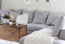 HOME DECOR INSPIRATION / Home decor and apartment organization inspiration