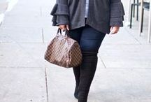 PLUS SIZE FALL OUTFITS / A collection of plus size fall outfits, casual fall outfits, thanksgiving outfits, cozy sweater outfits, and plus size outfit inspiration you must try out!