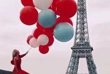 Paris y Globos. ¸¸.✿`