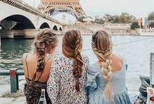 Amigas en Paris.¸¸.✿`