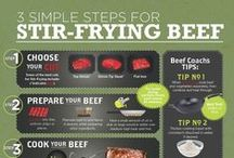 How-to Cook Beef / Tips and instructions for grilling, roasting, marinating, and stir-frying your way to perfectly tasty beef, every time.