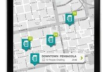webdesign mobile - map