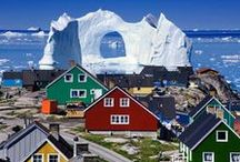 Greenland / Places to stay and visit.