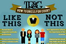 Immigration Court: 101 / Courtroom basics from dress code, etiquette and procedures.