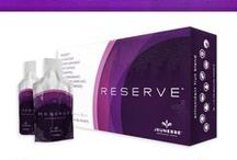 Reserve - Antioxidant Fruit Blend / With a botanical blend of antioxidants that super-charge your internal systems, RESERVE™ is a naturally sweet supplement bursting with exotic fruit juices. It contains a host of powerful ingredients that repair free radical damage and protect cells against future harm. Your cells stay healthier, live longer, and leave you looking and feeling great!