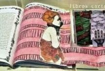Libros cartoneros / Llibres amb cartró reciclat