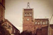 Barcelona old factories