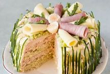 Sandwich Cakes,quiche and Savory pies