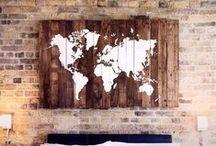 Mapy dřeva / Cesta našeho dřeva...