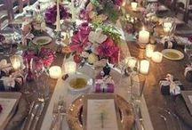 Belles tables/Beautiful tables / Idées de mise en place pour de belles tables. Ideas to dress gorgeous tables
